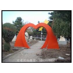 不锈钢拱门雕塑 公园景观雕塑厂家