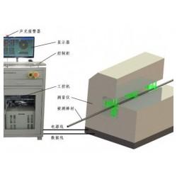 直线度测量仪能对钛棒进行直线度的检测