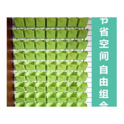 植物绿化墙/种植盆/立体绿化挂壁花盆/基质栽培设备种花