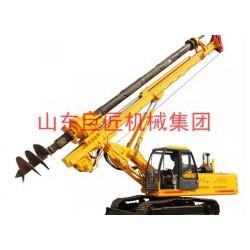 巨匠集团 28米履带机锁杆旋挖钻机 土层岩石都能打的旋挖钻机