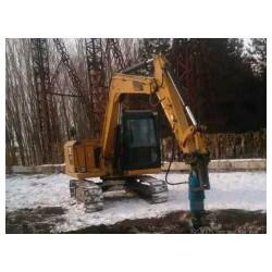 挖坑设备螺旋地钻BZ25000挖坑机生产厂家