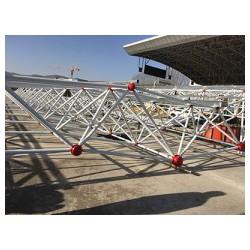 甘肃彩钢-业的网架建设就在甘肃省强达钢结构